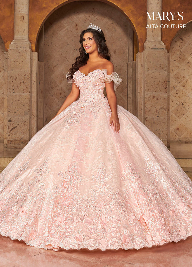 Lace Quinceanera Dress by Alta Couture MQ3062