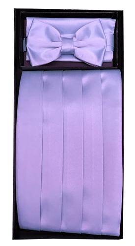 New Vesuvio Napoli 100/% Silk Cummerbund and Bowtie Set Formal Party Prom Pink