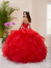 Layered Strapless Quinceanera Dress by Fiesta Gowns 56411 (Size 18 - 30)
