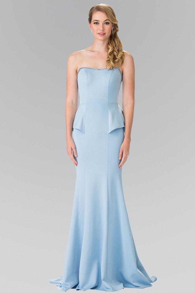 Long Strapless Mermaid Dress by Elizabeth K GL2304-Long Formal Dresses-ABC Fashion