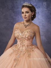 Mary's Bridal Princess Collection Quinceanera Dress Style 4Q491-Quinceanera Dresses-ABC Fashion