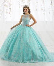 Metallic Beaded Sleeveless Quinceanera Dress by House of Wu 26915-Quinceanera Dresses-ABC Fashion