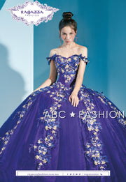 Off Shoulder 2-Piece Quinceanera Dress by Ragazza Fashion D41-541