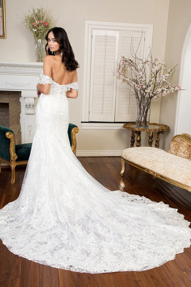 Off Shoulder Bridal Mermaid Gown by GLS Gloria GL1933