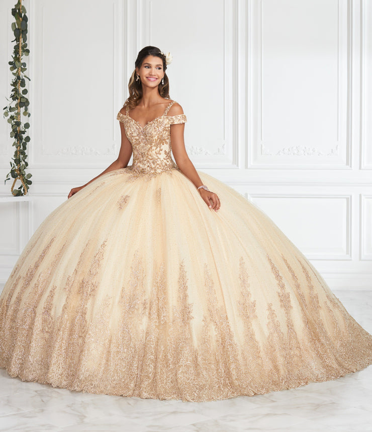 champagne quinceanera dresses off the shoulder