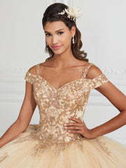Off Shoulder Lace Quinceanera Dress by House of Wu 26951-Quinceanera Dresses-ABC Fashion