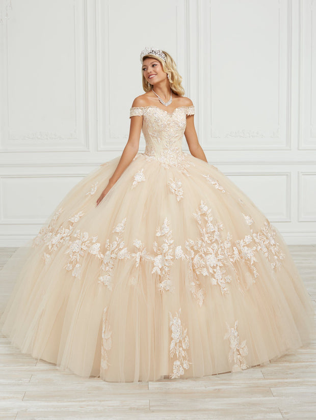 Off Shoulder Quinceanera Dress by House of Wu 26973
