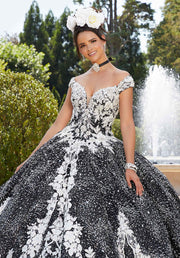 Off Shoulder Quinceanera Dress by Mori Lee Valentina 34042