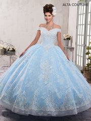 Off the Shoulder Lace Quinceanera Dress by Alta Couture MQ3001-Quinceanera Dresses-ABC Fashion