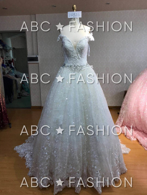 Off the Shoulder Lace Quinceanera Dress by House of Wu 26926-Quinceanera Dresses-ABC Fashion