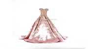 Pink Off Shoulder Quinceanera Dress by Ragazza DV58-558