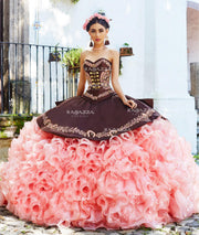 Ruffled Charro Quinceanera Dress by Ragazza Fashion M14-114-Quinceanera Dresses-ABC Fashion