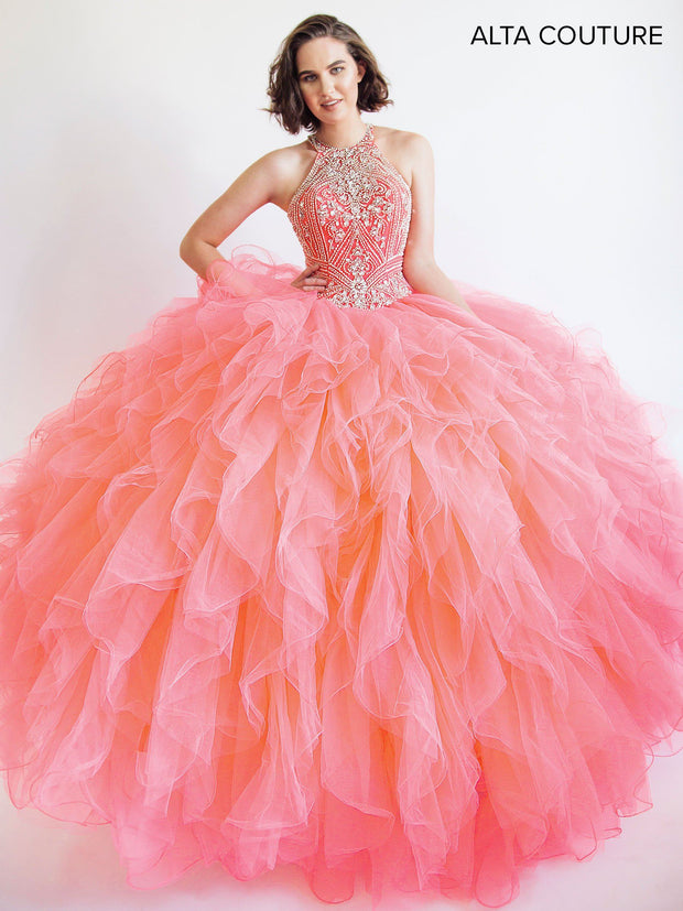 coral quinceanera dresses picture collection dressedupgirlcom