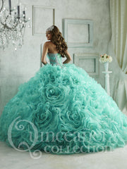 Ruffled Quinceanera Dress with Mini Skirt by House of Wu 26801