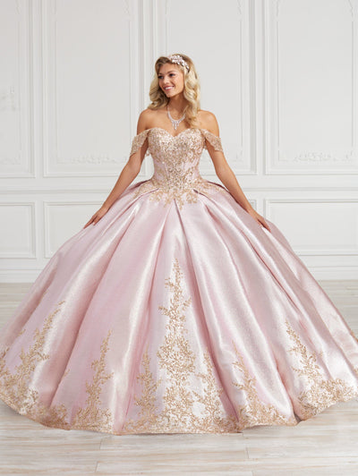Satin Sweetheart Quinceanera Dress by House of Wu 26977