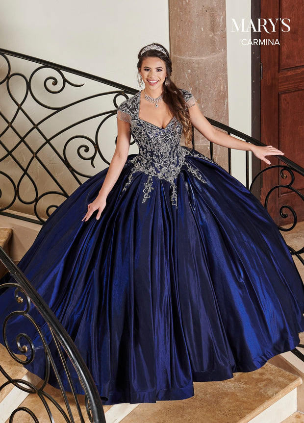 Satin Sweetheart Quinceanera Dress by Mary's Bridal MQ1069