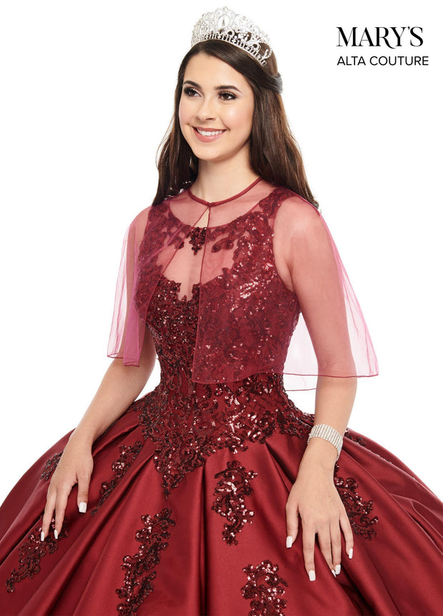 Sequin Mikado Quinceanera Dress by Alta Couture MQ3038-Quinceanera Dresses-ABC Fashion