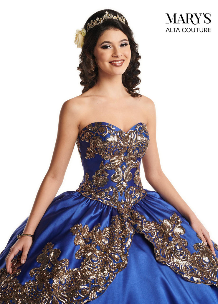 Sequin Sweetheart Quinceanera Dress by Alta Couture MQ3030-Quinceanera Dresses-ABC Fashion