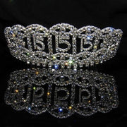 Silver Quinceanera Tiaras with Clear Stones 2.5 Inch - T083-Quinceanera Tiaras-ABC Fashion