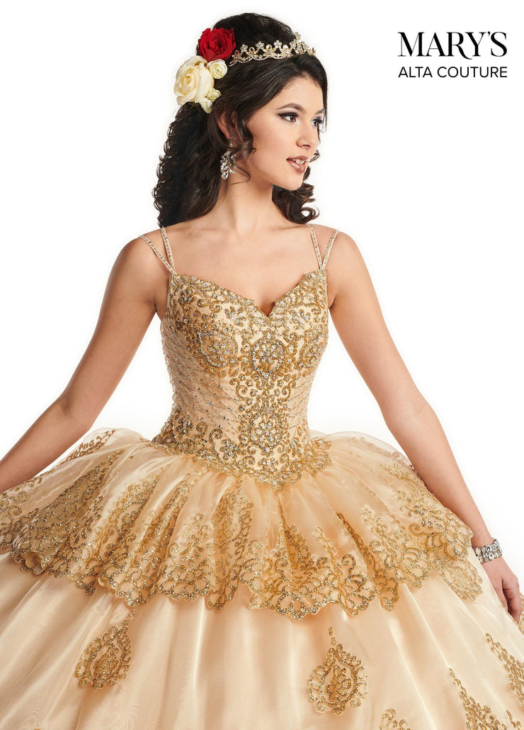 Sleeveless Glitter Quinceanera Dress by Alta Couture MQ3031-Quinceanera Dresses-ABC Fashion