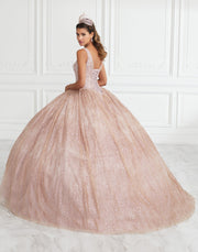 Sleeveless Glitter Quinceanera Dress by House of Wu 26949-Quinceanera Dresses-ABC Fashion