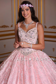 Sleeveless Lace Quinceanera Dress by House of Wu 26940-Quinceanera Dresses-ABC Fashion