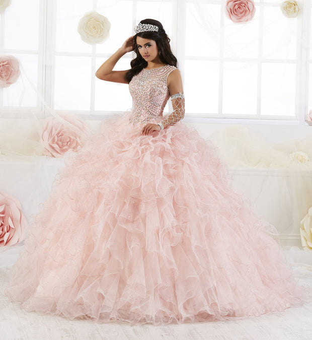 Sleeveless Ruffled Quinceanera Dress by House of Wu 26901-Quinceanera Dresses-ABC Fashion