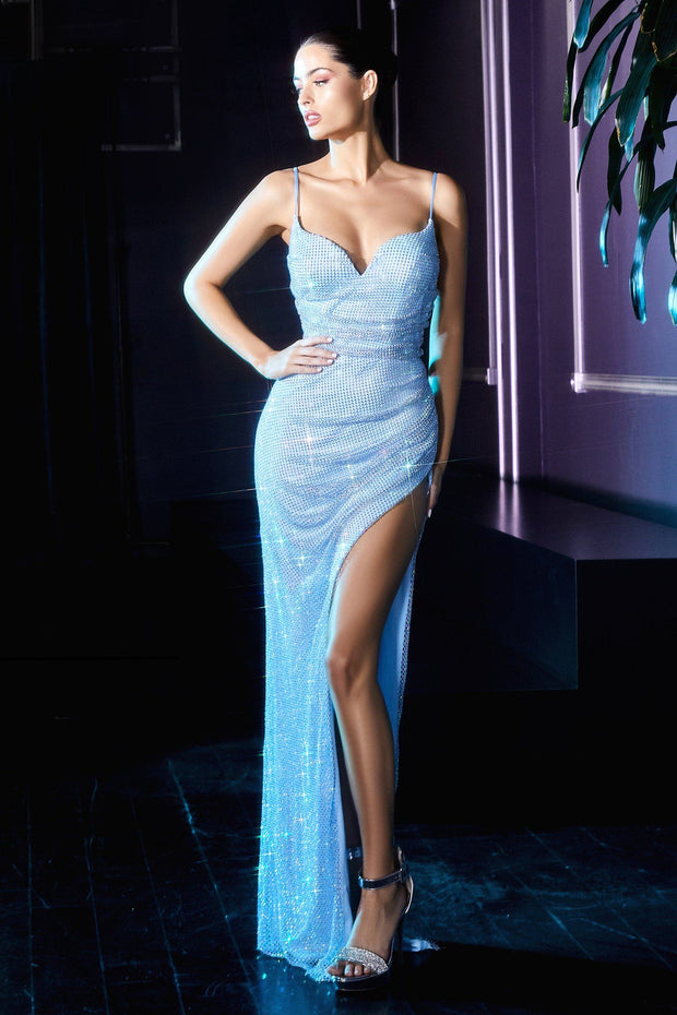 Sparkly Column Gown by Cinderella Divine CD219