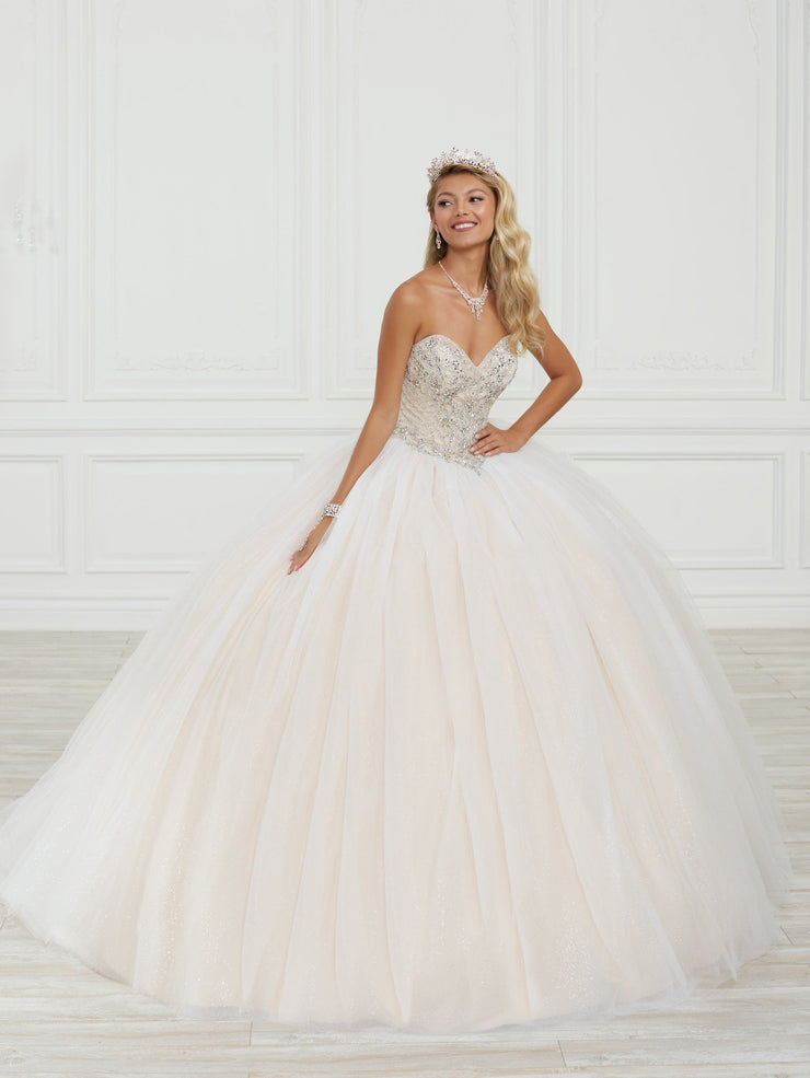 Strapless Quinceanera Dress by Fiesta Gowns 56415
