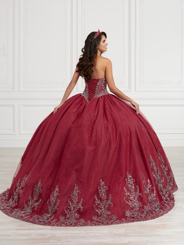 Strapless Quinceanera Dress by Fiesta Gowns 56416