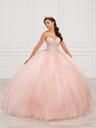 Strapless Quinceanera Dress by Fiesta Gowns 56417