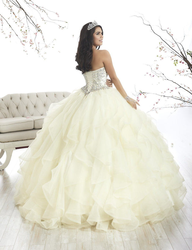 Strapless Ruffled Quinceanera Dress by House of Wu 26870-Quinceanera Dresses-ABC Fashion
