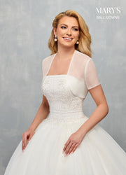 Strapless Wedding Ball Gown by Mary's Bridal MB6078