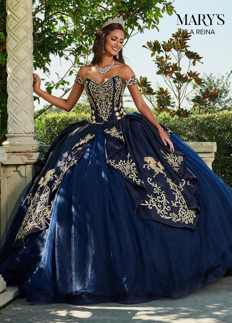 Sweetheart Charro Quinceanera Dress by Mary's Bridal MQ2112-Quinceanera Dresses-ABC Fashion