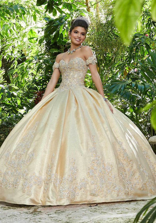 Sweetheart Taffeta Quinceanera Dress by Mori Lee Vizcaya 89242-Quinceanera Dresses-ABC Fashion