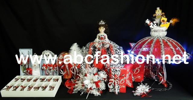 Umbrella Quinceanera Centerpieces - $1,395 Quinceanera Package-Quinceanera Dresses, Packages, and Accessories-ABC Fashion