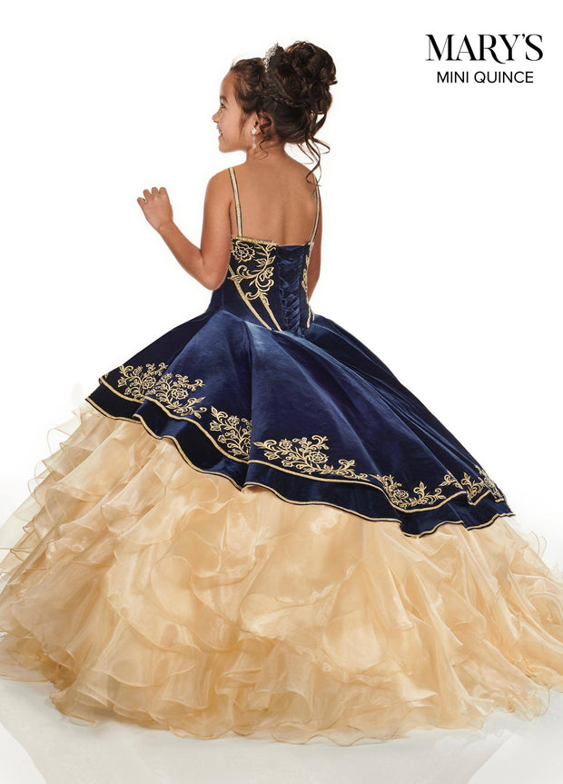 Velvet Charro Quinceanera Dress by Alta Couture MQ3037