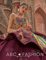 Virgen De Guadalupe Quinceanera Dress by Ragazza Fashion M18-118-Quinceanera Dresses-ABC Fashion