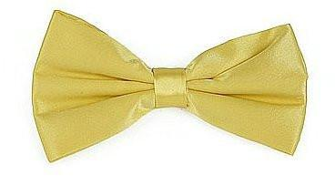 Yellow Silk Bow Ties-Men's Bow Ties-ABC Fashion
