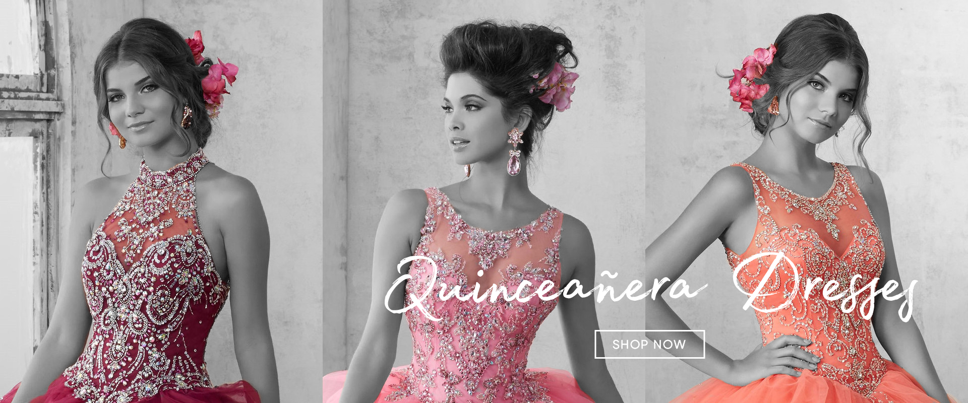 Shop quinceañera dresses from ABC Fashion