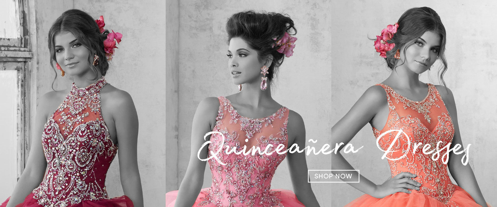 ABC Fashion Quinceanera Dresses Banner