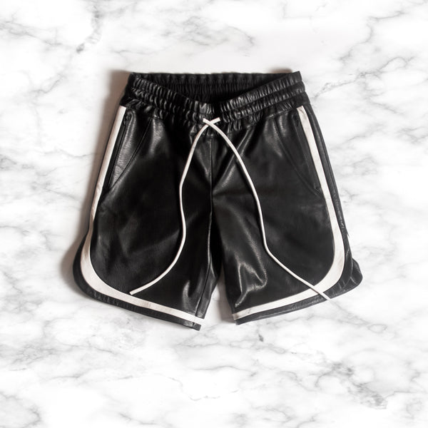Vintage Lambskin Basketball Shorts