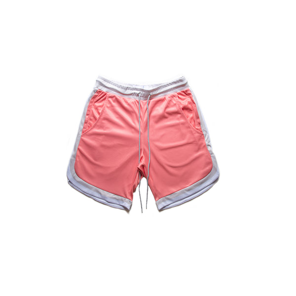 Salmon Vintage B Ball Shorts