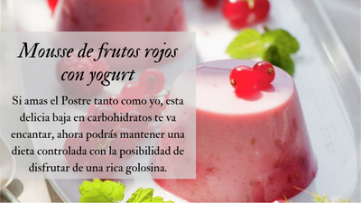 Receta Mousse Red - Fit