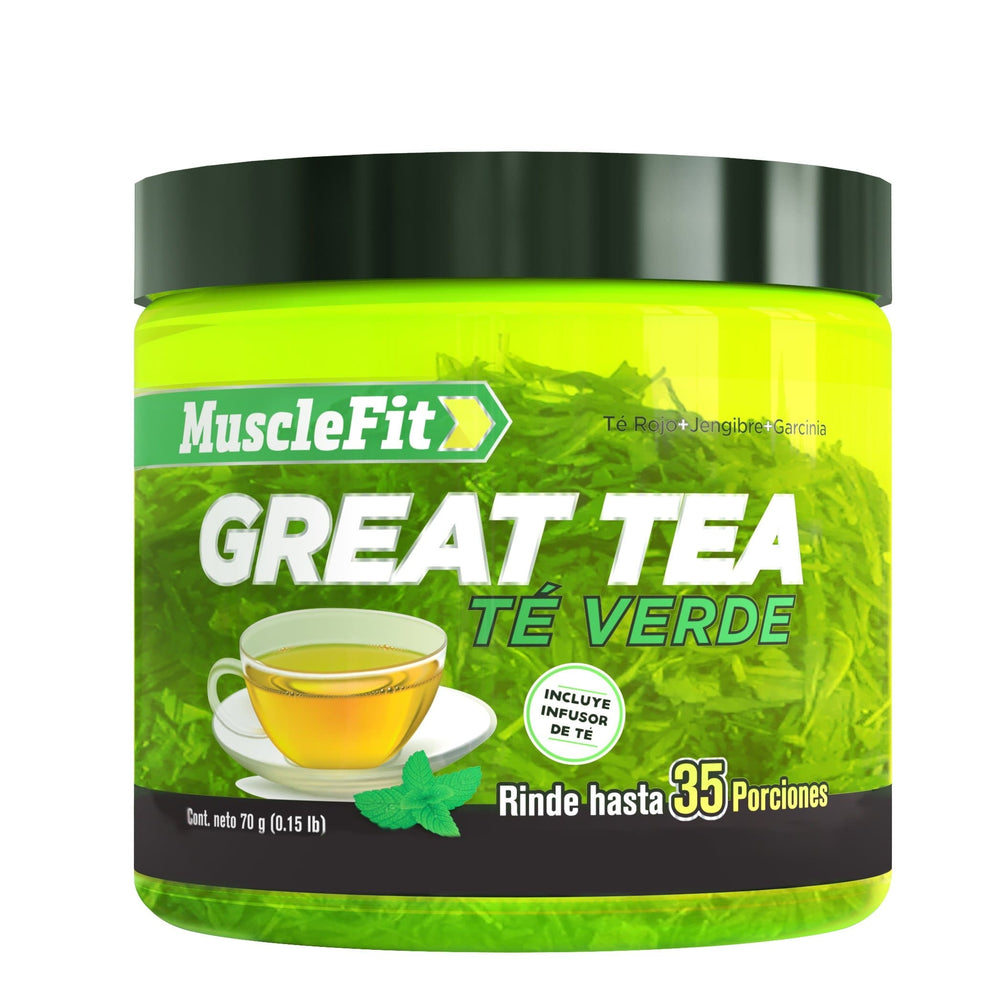 GREAT TEA - Té ( 35 Servicios ) - MuscleFit