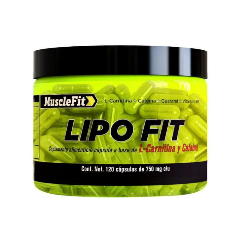 .LIPO FIT - TERMOGENICO ( 120 caps )