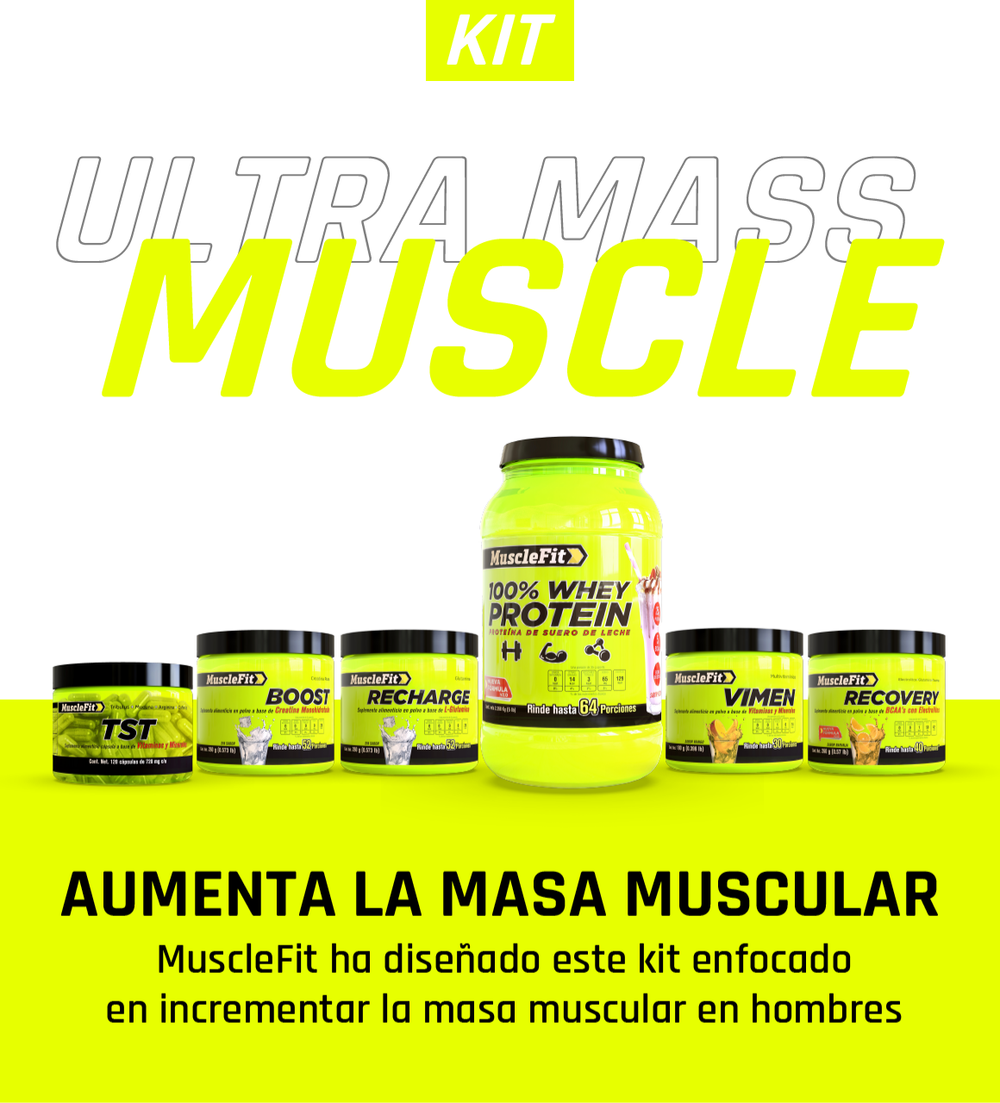 Ultra Mass Muscle - MuscleFit