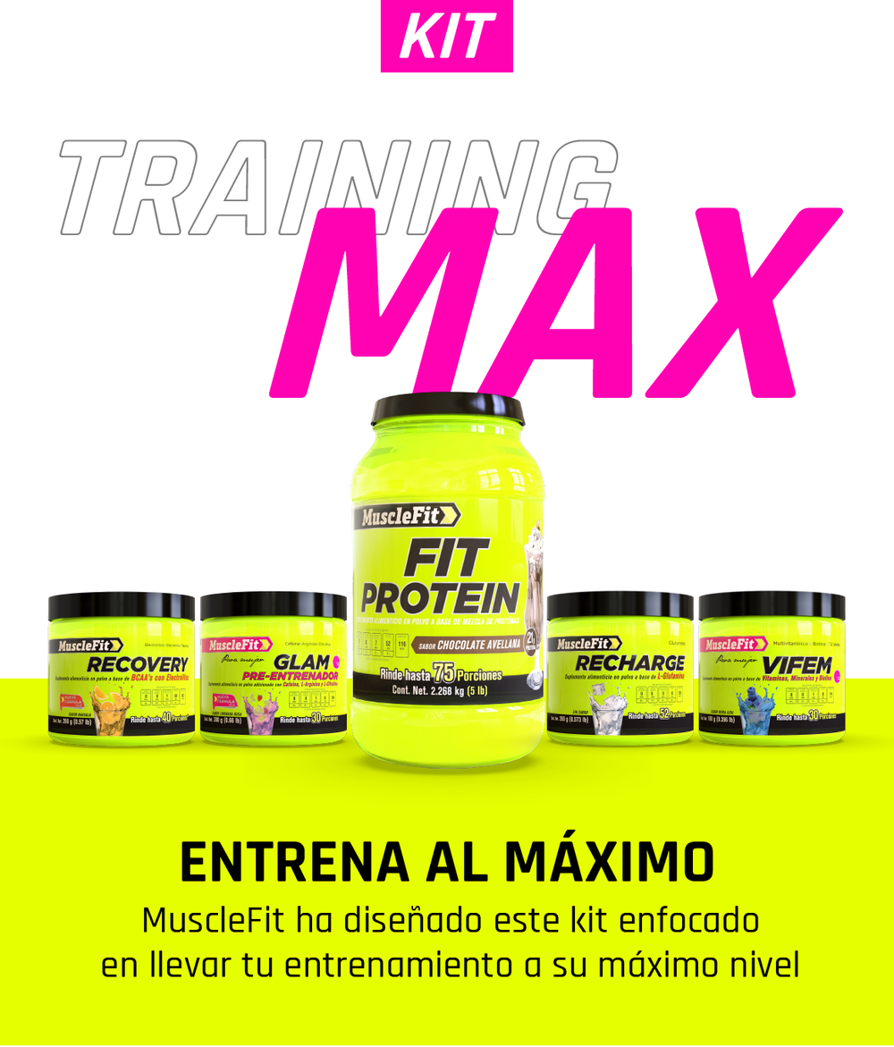 Training Max - Mujer - MuscleFit - Suplementos