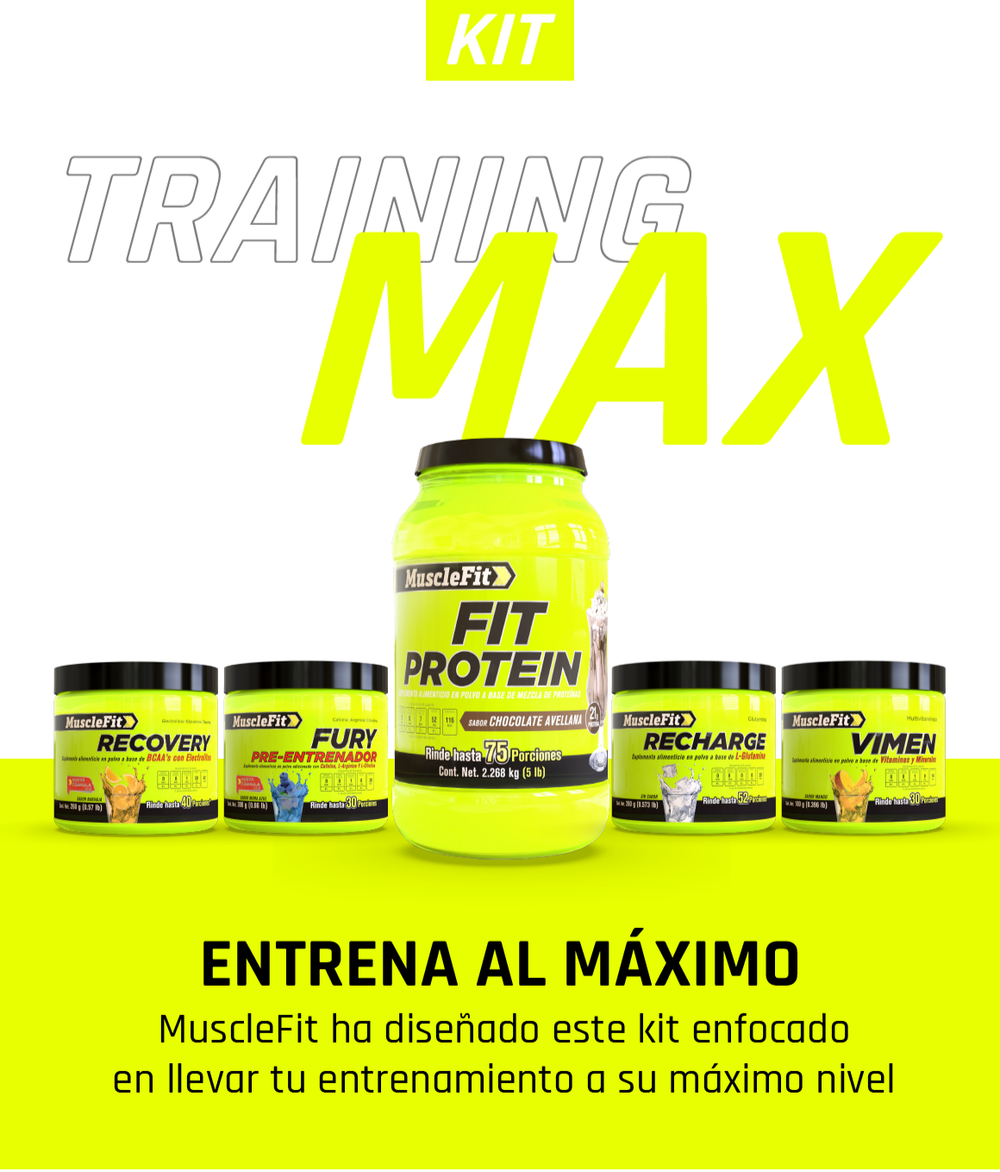 Training Max - Hombre - MuscleFit