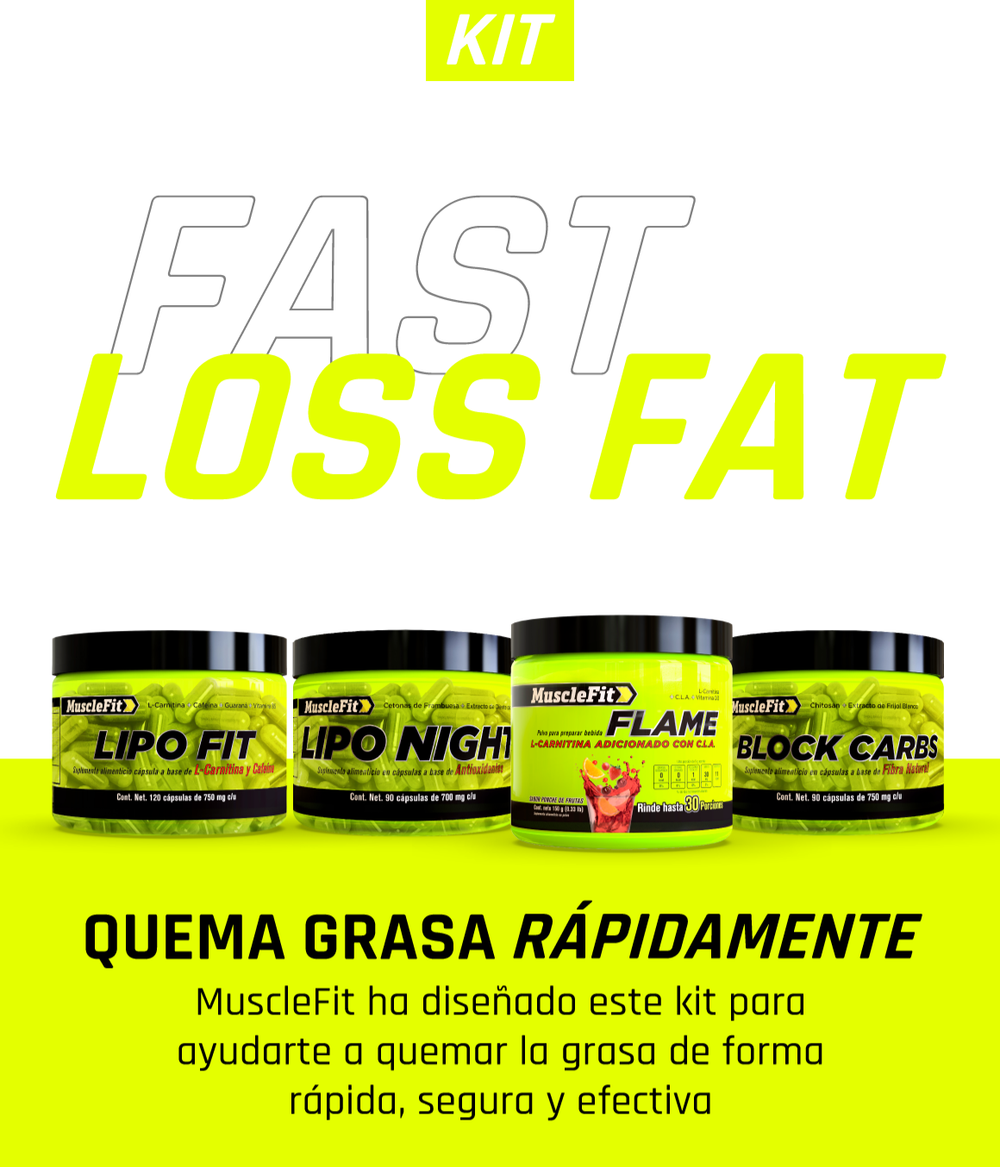Fast Loss Fat - MuscleFit - Suplementos